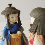 男女のお人形