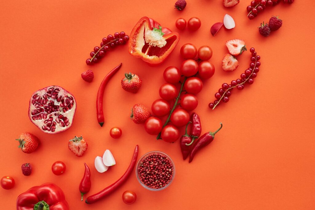 food healthy red love